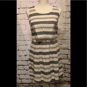 Loft Nautical Dress New Sz 4